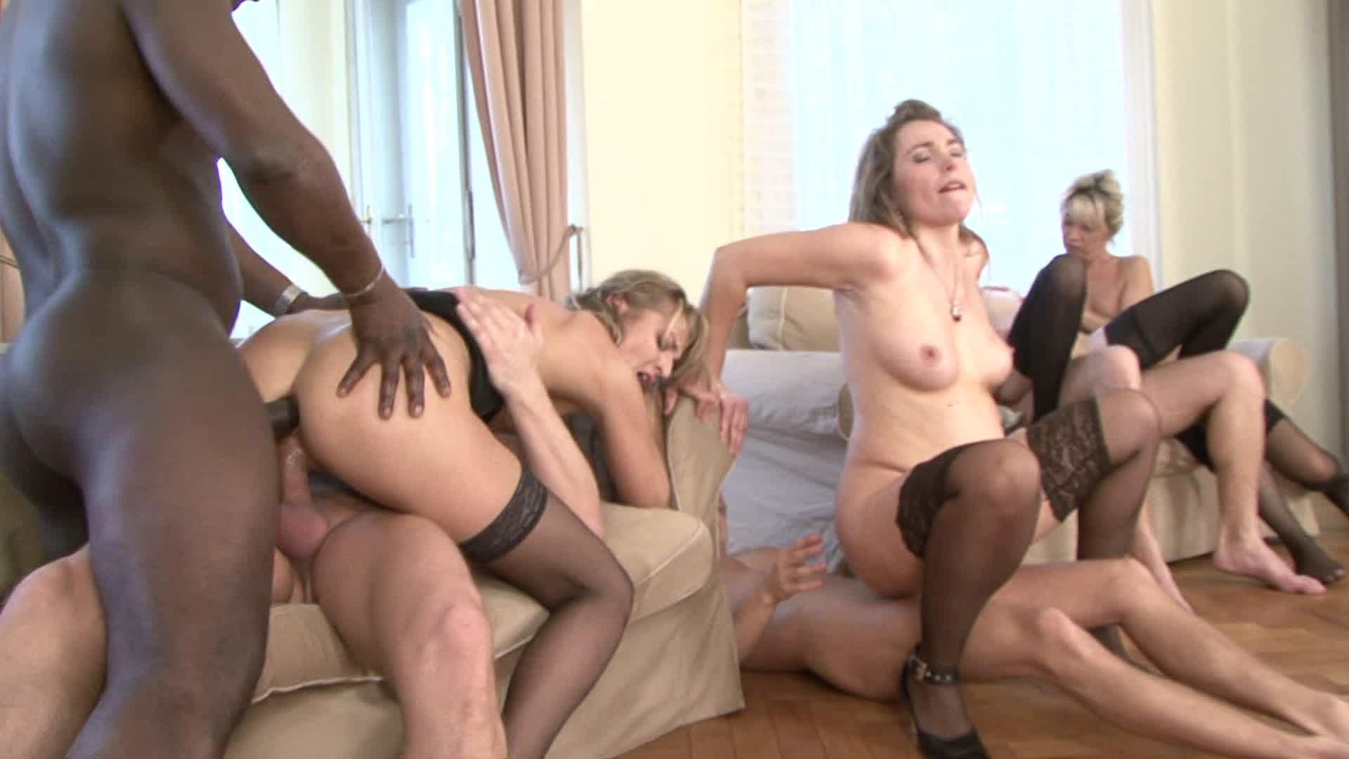 All out fuckfest group sex at its best 3